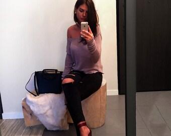 Lily V-neckline Sweater