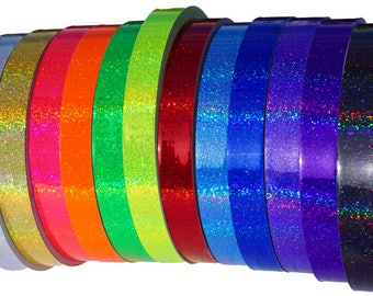 1-inch HoloGlitter Hoop Tape (12 colors)