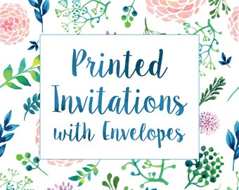Add-On | Printing Service for Invitations