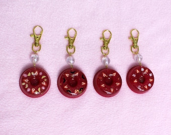 Strawberry Jelly Cake Charm
