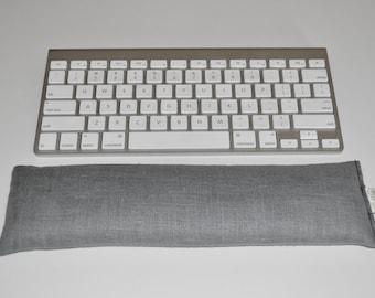12 inch Linen Computer Keyboard Wrist Rest & Optional Mouse Wrist Support Set - Lavender or Unscented