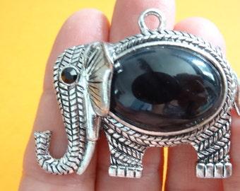 1 Elephant Antique Silver - SC5143