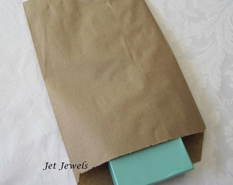 50 Paper Bags, Gift Bags, Kraft Paper Bags, Candy Bags, Brown Paper Bags, Party Favor Bags, Retail Bags, Merchandise Bags, Paper Bag 6x9