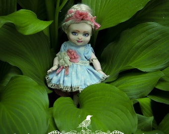 Little sweet prinsess. OOAK porcelain BJD.