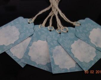 Gift card set, handmade tags, diy