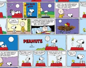 Peanuts Comic Strip Bandana or Bag