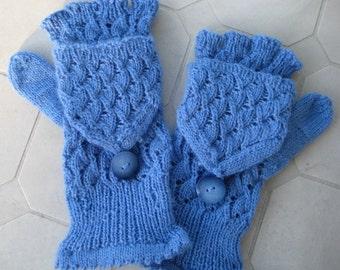 NZ wool Fingerless Gloves Mittens