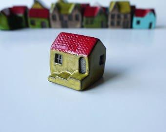 Handmade Ceramic Green House