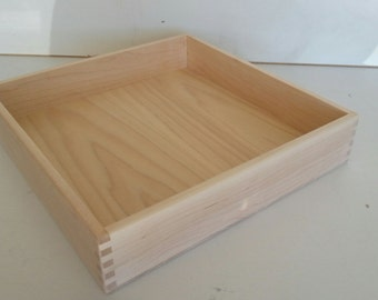 Hand Crafted Maple Napkin Box