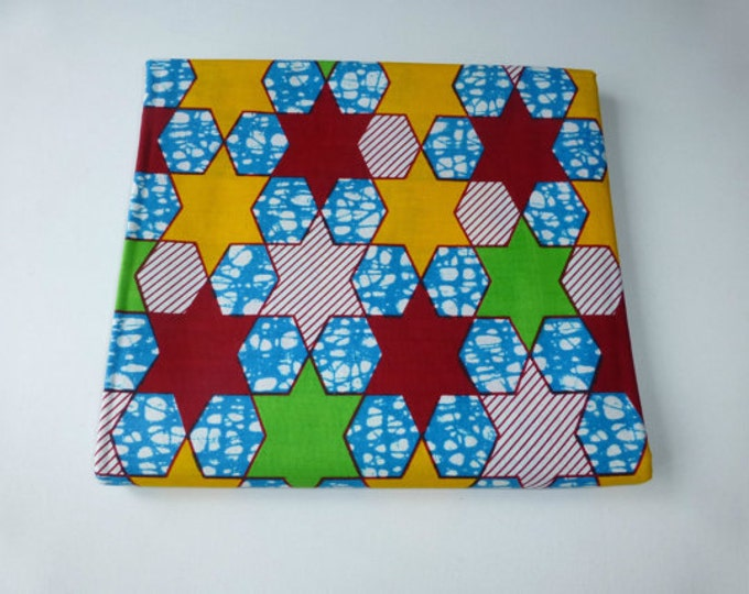 African Ankara Print Fabrics Block / Fabric For Dressmakings/Fabric for Sewing Dresses Sold By FAT QUARTER