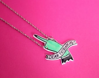 Dear Patriarchy Necklace