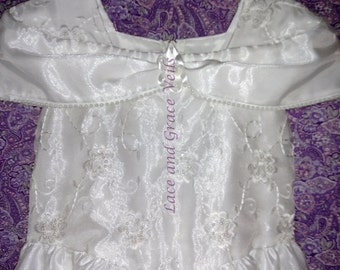 Communion Dress and Veil