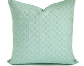 Pillow cover, Throw pillow, Couch cushion, Decorative pillow, Accent pillow, Sea green pillow, Sham, Lumbar pillow, 13 sizes available