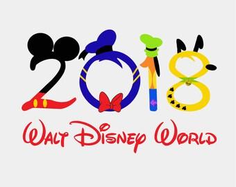 Disney Family Vacation T-Shirts 2017/2018-Disney Family Shirts,Disney World,Matching Family Disney Shirts,Disney Shirts for Family