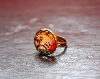 Japanese cherry ring