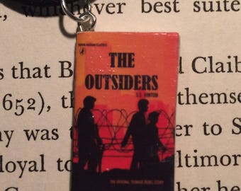 The Outsiders Book Necklace, Brooche, or Keychain