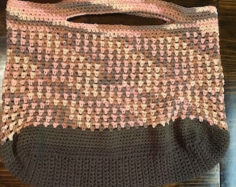 Pink and Brown Totes