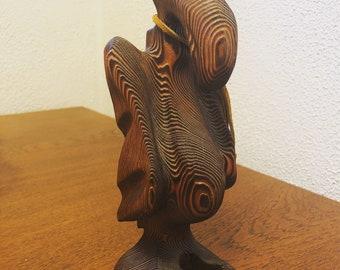 Witco Buzzard Wood Sculpture