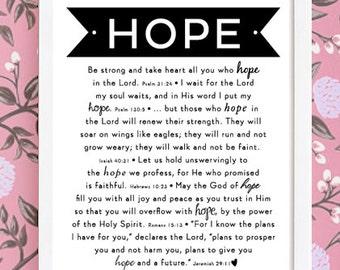 HOPE : Art Print