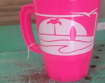 17 oz personalized PARTY plastic stein mugs