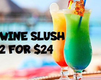 TWO Wine Slush Mix| Margaritas| Cocktail Party| Wine Gift| Gifts for 21| Wine Drinks| Birthday Gift| Gifts for Her| Drink in Hand