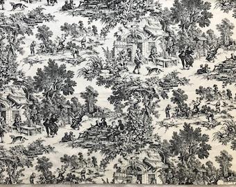 House n Home Fabrics & Draperies Toile Print