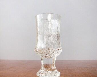 Vintage iittala Ultima Thule Wine Glass - Tapio Wirkkala