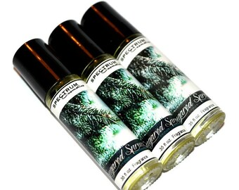 SUGARED SPRUCE Roll on Cologne Fragrance