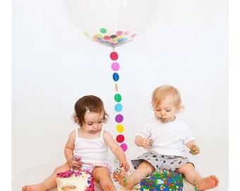 Birthday Decorations / Balloon Garland / Birthday Party Decorations / Kids Birthday decor / Rainbow Decorations / Photo Prop / Party Decor