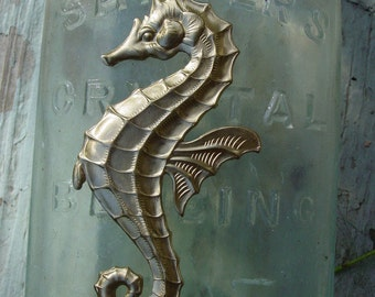 LIMITED Vintage Exceptional Seahorse Brass (1 pc)