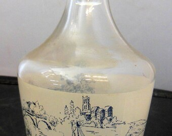 Vintage France Glass Decanter With Stopper