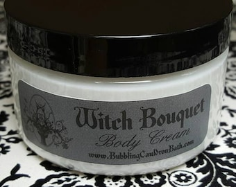 Witch Bouquet Body Cream - Ylang Ylang Cream - Jasmine Cream - Witch Cream