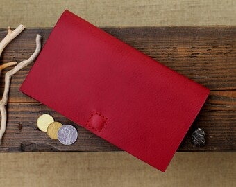 Leather Wallet Clutch, Leather Clutch, Leather Women Clutch