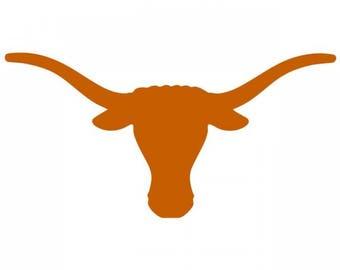 Texas LONGHORNS , cornhole decal, truck decal, yeti decal, laptop decal, sticker, window decal, vinyl die cut decal decals
