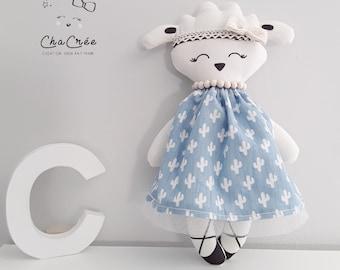 Sheep 30cm cloth doll / rag doll