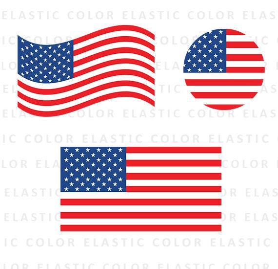 usa flag svg american flag clipart usa flag vector digital rh etsy com us flag vector free download us flag vector art free