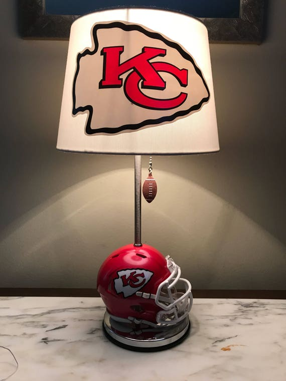 Kansas city chiefs mini helmet football lamp nfl team sports aloadofball Image collections