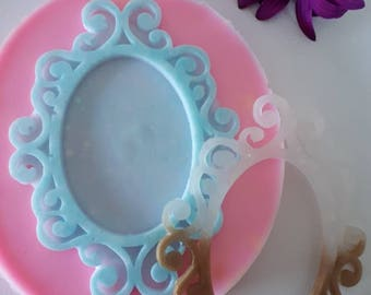 Beautiful frame cammeo mold XL