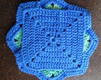 Crocheted Counter Protector - Trivet Counter Protector - Hot Pan Protector
