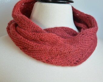 Falling Leaves Infinity Scarf