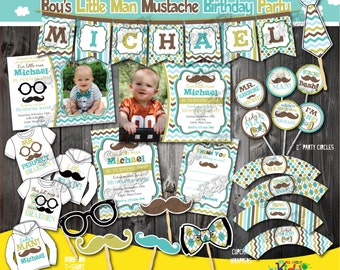 Little man birthday invitation little man mustache birthday little man birthday party package mustache birthday party mustache first birthday 1st birthday invitation mustache party little man party filmwisefo