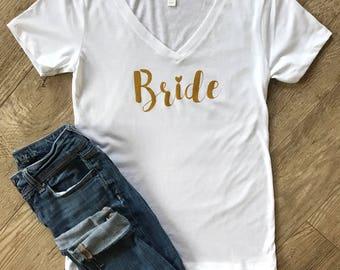 Bride Shirt • Wedding Shirt • New Weds Shirt • Bachelorette Shirt • Bridal Party Shirt • Wifey • Mrs Shirt • Honeymoon • Bridal Shower Gift