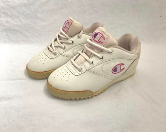vintage champion sneakers little girl's size 3 deadstock NWOB 90s