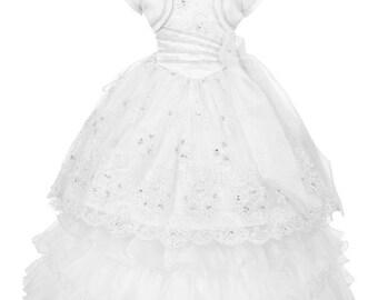 Halter Neck Communion Dress