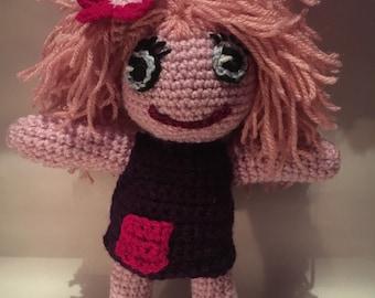 Amigurumi. Pink princess Sharlotte
