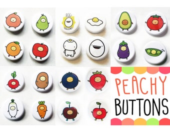 Pick Any 2 Pinback Buttons