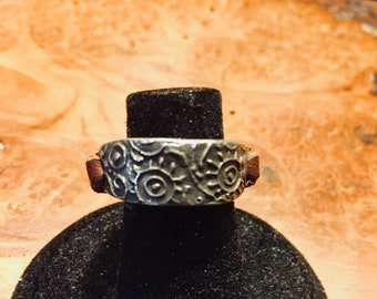 Sunny Days Leather Ring