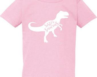 Sister Saurus shirt, Sister saurus, t shirt, Sister shirts, girls shirts, big Sister shirt, Sister dinosaur, dinosaur, shirt, t shirt, sis