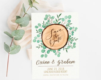 Save The Date | Modern Save The Date | Digital Invitation | Printable