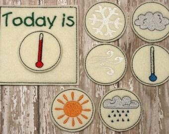 Felt Weather Chart